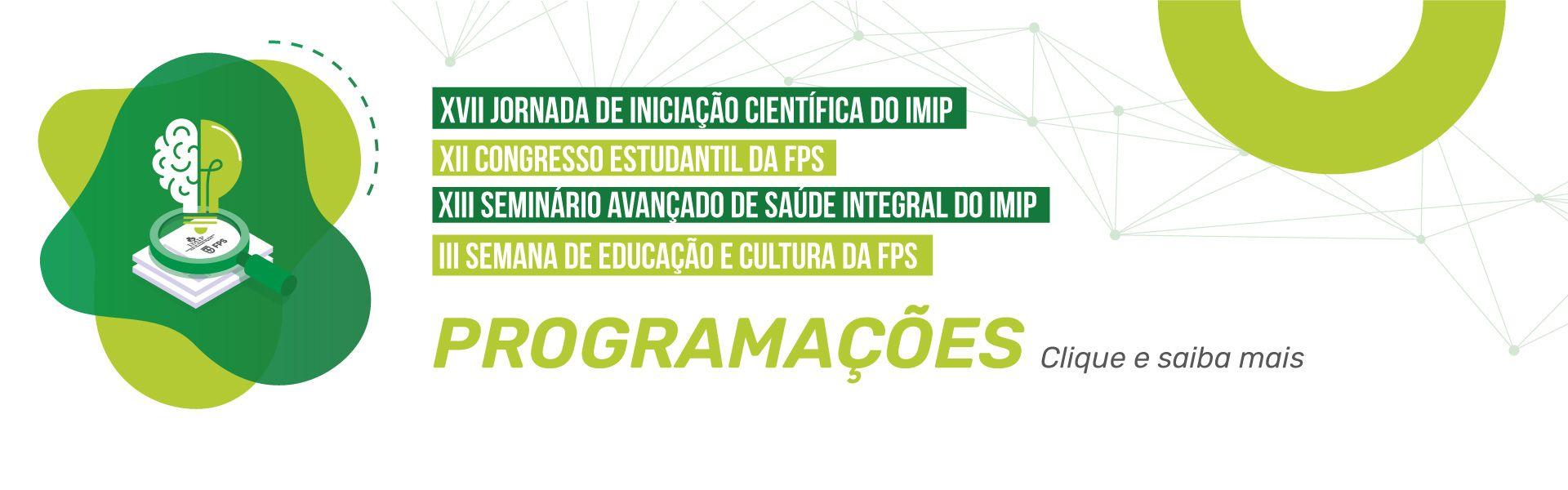 Programação - Congresso Estudantil 2021
