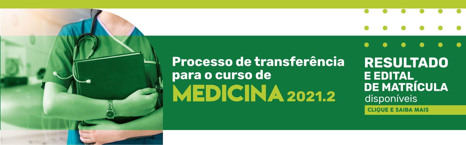 resultado transferência medicina