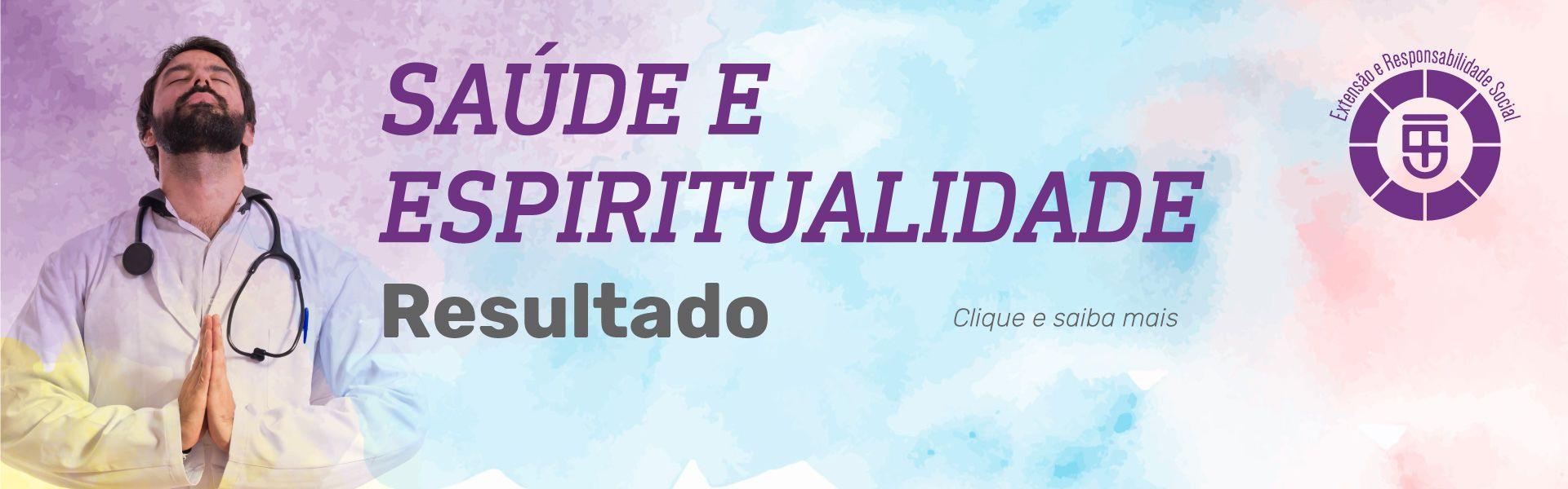 resultado saúde e espiritualidade