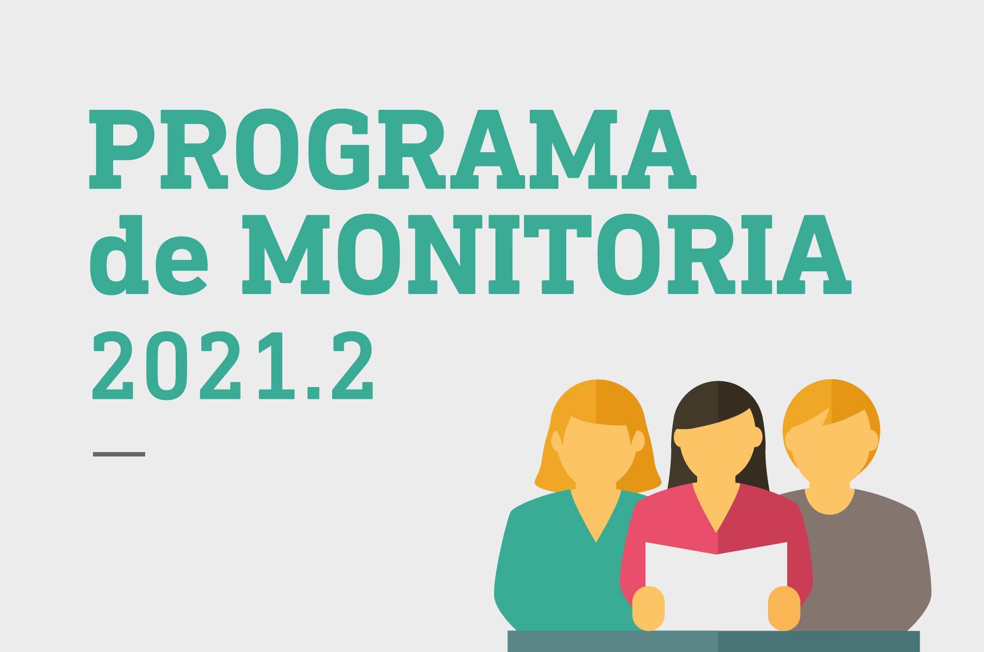 Programa de Monitoria 2021.2 - Aptos para a 1ª fase