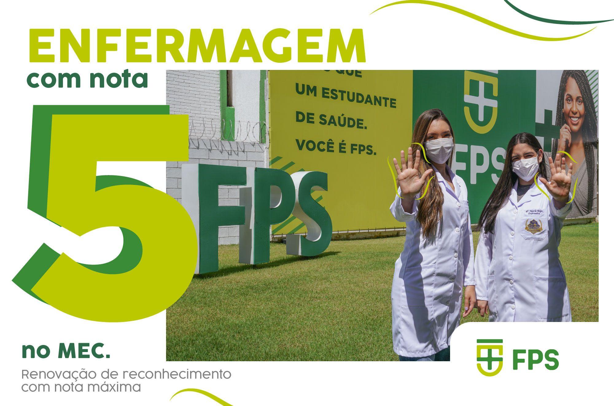 ENFERMAGEM É NOTA 5 NO MEC!