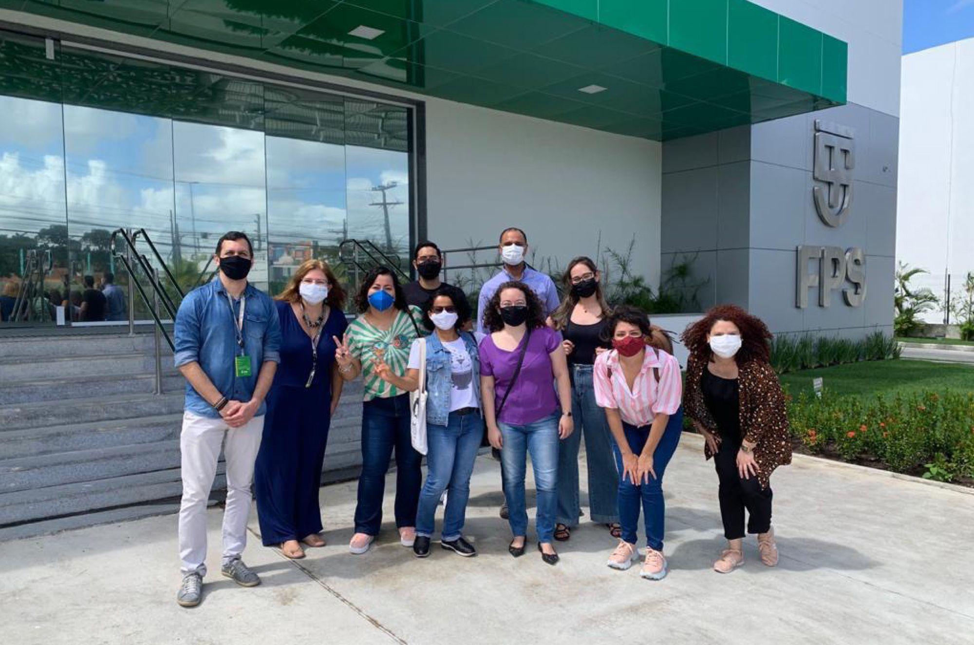 FPS recebe visita de estudantes de pós-graduação