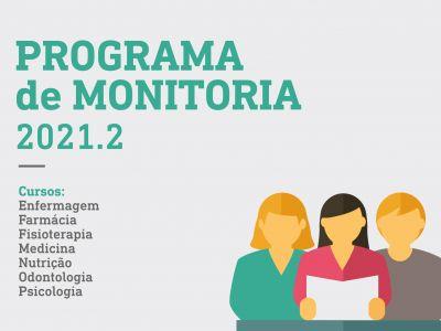Programa de monitoria 2021.2