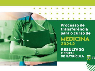 Processo de Transferência de Medicina 2021.2 - resultado
