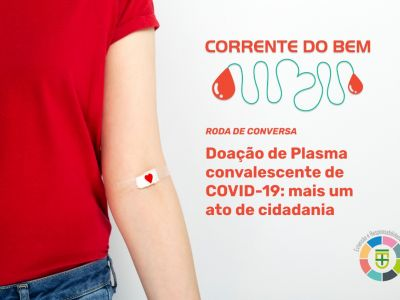 Roda de conversa: Doação de plasma