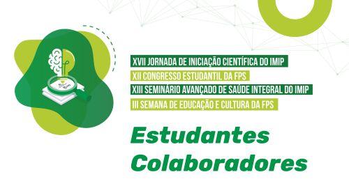 Inscrições - Estudantes Colaboradores do Congresso Estudantil 2021