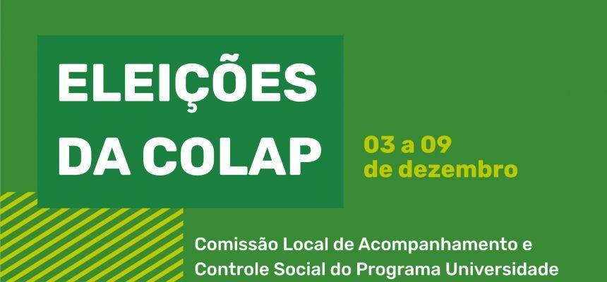ELEIÇÕES COLAP 2020/2021 e 2021/2022