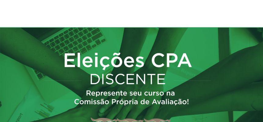 Eleições CPA - Discentes