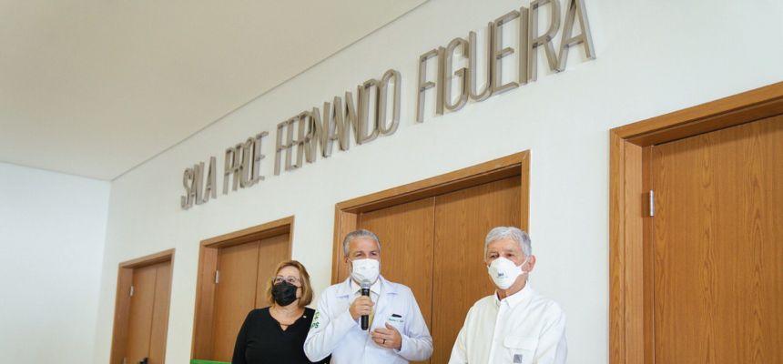 FPS inaugura espaço com homenagem ao Professor Fernando Figueira