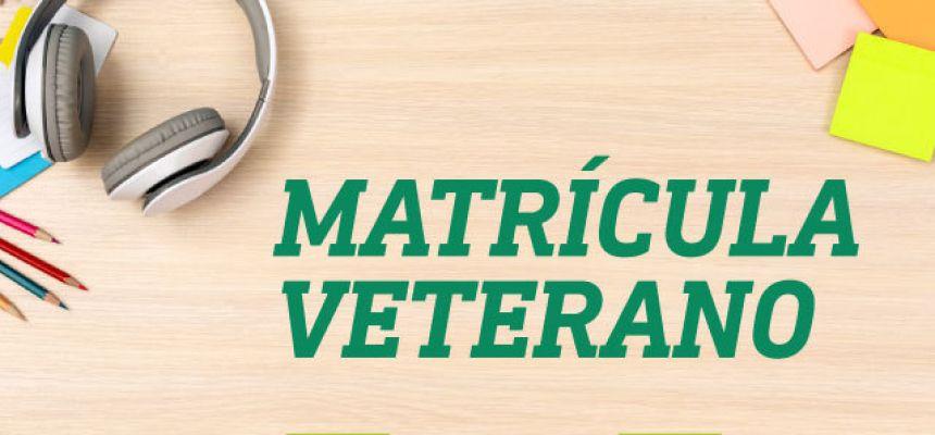 Matrícula 2020.1 - estudantes veteranos