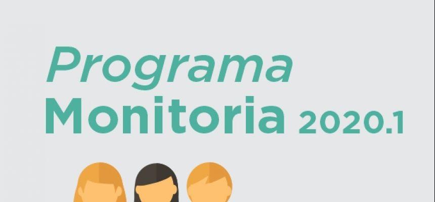 PROGRAMA DE MONITORIA 2020.1 - SELECIONADOS PARA AS ENTREVISTAS