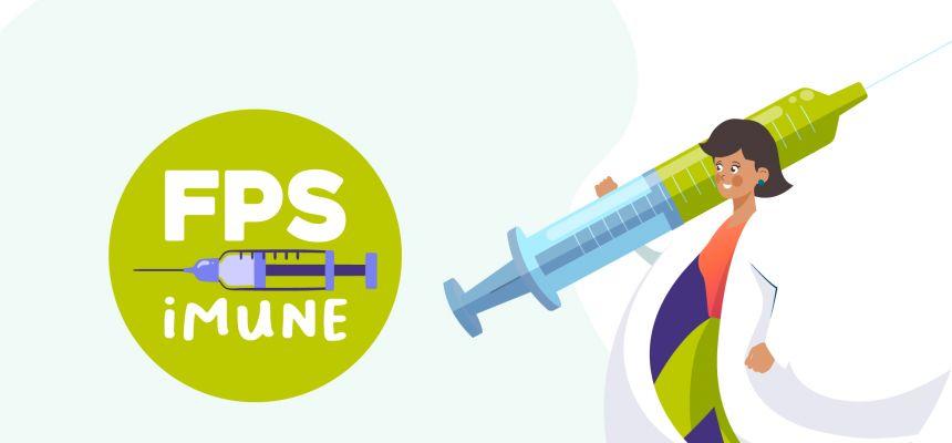 Comprove sua vacinação na campanha FPS Imune