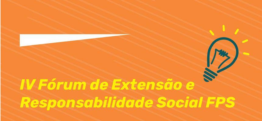 IV Fórum de Extensão e Responsabilidade Social 2020