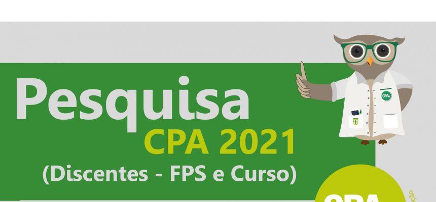 Pesquisa CPA 2021 - Discentes (FPS e Curso)