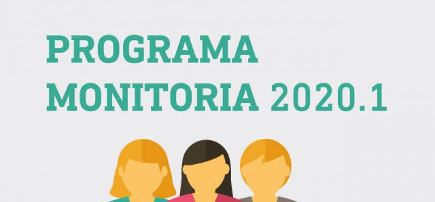 PROGRAMA DE MONITORIA 2020.1 - MEDICINA - CLASSIFICADOS 1ª ETAPA