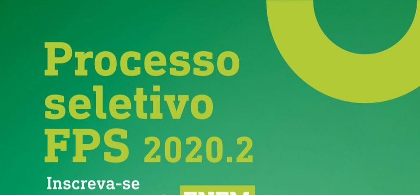 Processo seletivo 2020.2