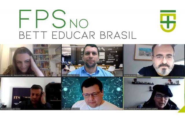 FPS marca presença em encontro do Bett Educar Brasil