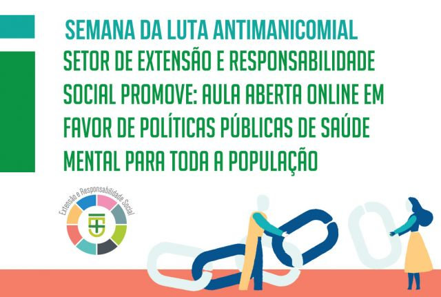 Aula Aberta Online em favor de políticas públicas de saúde mental para toda a população
