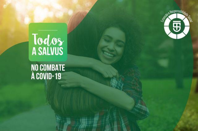 """Projeto de Extensão """"Todos a Salvus"""" no combate à Covid-19 - Treinamento"""
